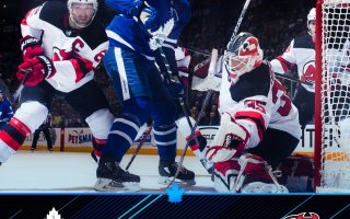 Game 20: Toronto Maple Leafs VS New Jersey Devils