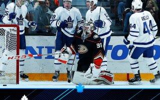 Game 13: Toronto Maple Leafs VS Anaheim Ducks