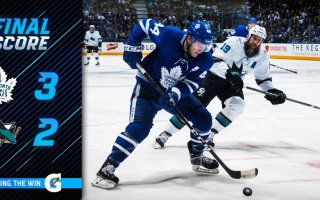 Game 42: Toronto Maple Leafs VS San Jose Sharks