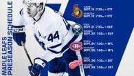 Maple Leafs Announce 2018 NHL Preseason Schedule