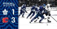 Game 12: Calgary Flames VS Toronto Maple Leafs (L 3-1)
