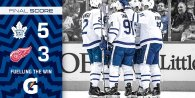 Game 5: Toronto Maple Leafs @ Detroit Red Wings (W 5-3)