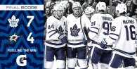 Game 4: Toronto Maple Leafs @ Dallas Stars (W 7-4)