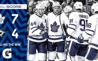 Game 4: Toronto Maple Leafs @ Dallas Stars (W 7-4)