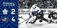 Game 23: Toronto Maple Leafs VS Columbus Blue Jackets (L 4-2)