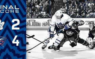 Game 23: Toronto Maple Leafs VS Columbus Blue Jackets (L 4-2)