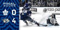 Game 42: Nashville Predators VS Toronto Maple Leafs (L 4-0)