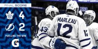 Game 46: Toronto Maple Leafs VS Tampa Bay Lightning (W 4-2)