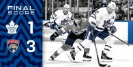 Game 47: Toronto Maple Leafs VS Florida Panthers (L 3-1)