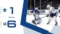 Game 64: Toronto Maple Leafs VS New York Islanders (L 6-1)