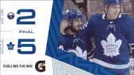 Game 65: Buffalo Sabres VS Toronto Maple Leafs (W 5-2)