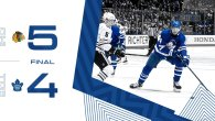 Game 70: Chicago BlackHawks VS Toronto Maple Leafs (L 5-4)