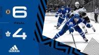 ECQF Game 4: Boston Bruins @ Toronto Maple Leafs (L 6-4)