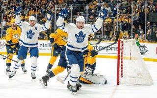 Game 50: Toronto Maple Leafs @ Nashville Predators (W 5-2)