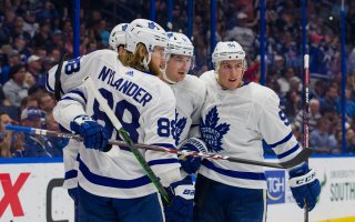 Game 64: Toronto Maple Leafs @ Tampa Bay Lightning (W 4-3)
