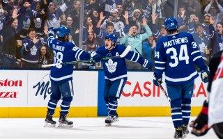 Game 52: Ottawa Senators @ Toronto Maple Leafs (OTW 2-1)
