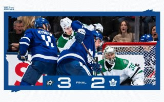 Game 58: Dallas Stars @ Toronto Maple Leafs (L 3-2)