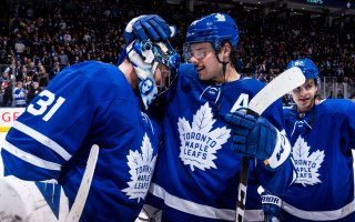 Game 62: Pittsburgh Penguins VS Toronto Maple Leafs (W 4-0)