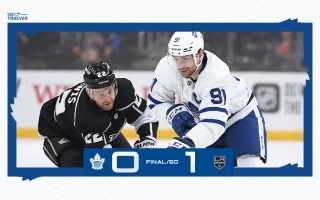 Game 68: Toronto Maple Leafs @ Los Angeles Kings (SOL 1-0)