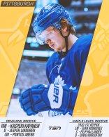 Maple Leafs Trade Kapanen to Penguins
