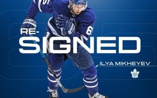 Maple Leafs Sign Ilya Mikheyev to Two-Year Contract Extension