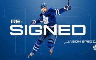 Maple Leafs Sign Spezza to Contract Extension
