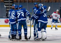 Maple Leafs rally, defeat Canadiens in OT in opener