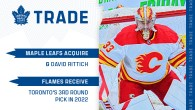 Maple Leafs Acquire David Rittich From Calgary