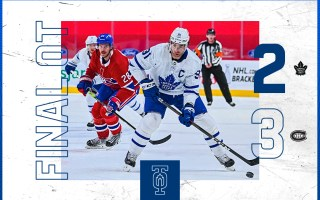 Game 52: Toronto Maple Leafs 2 – 3 Montreal Canadiens (OT)