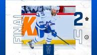 Game 56: Toronto Maple Leafs 2 – 4 Winnipeg Jets