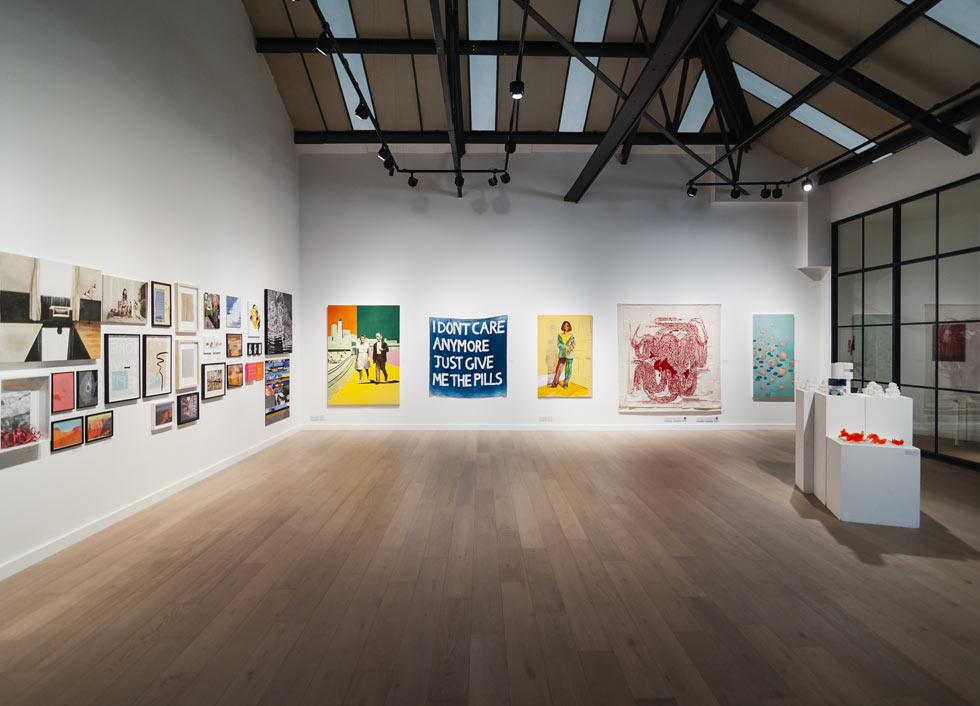 arts london annual exhibition tm lighting