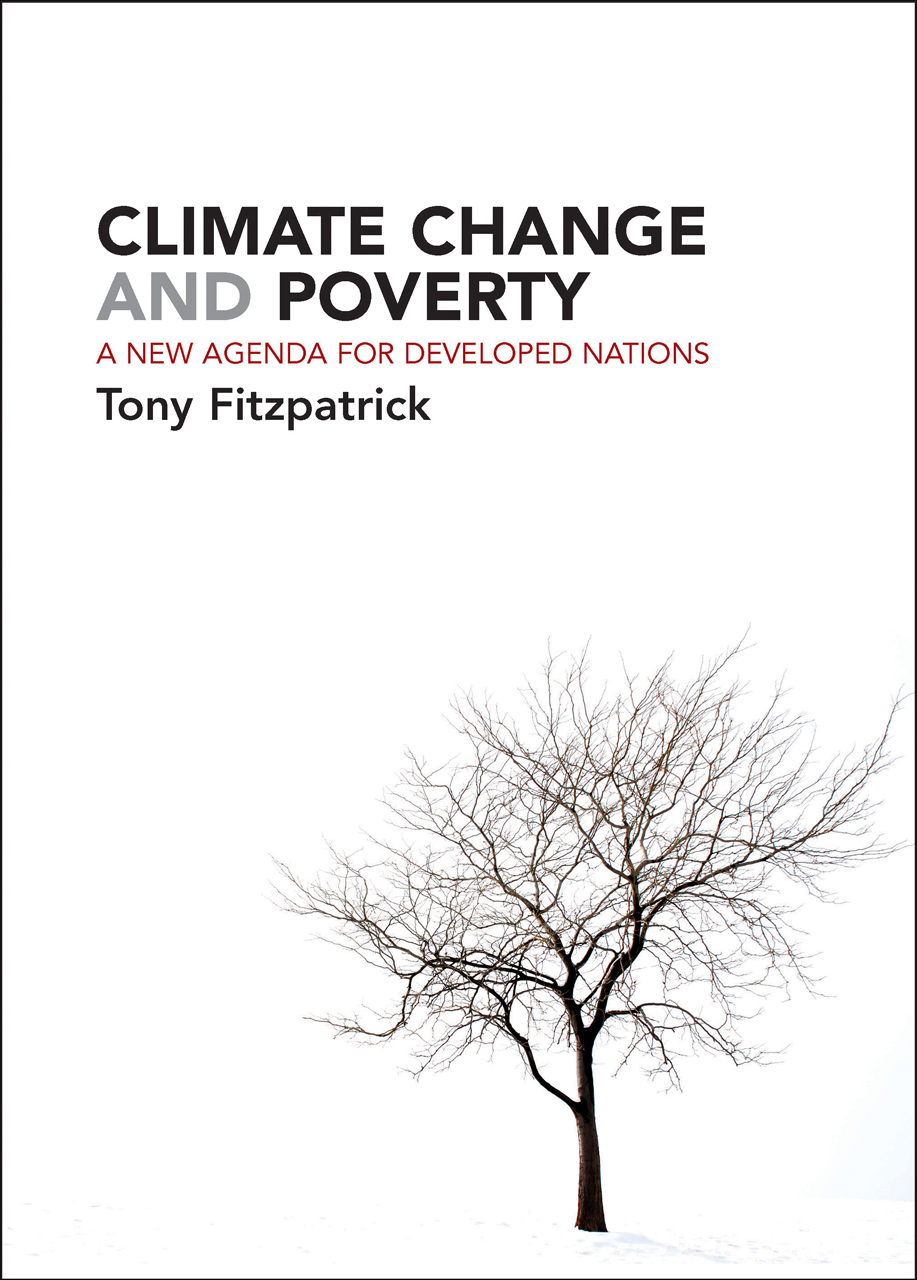 Climate Change and Poverty: A New Agenda for Developed
