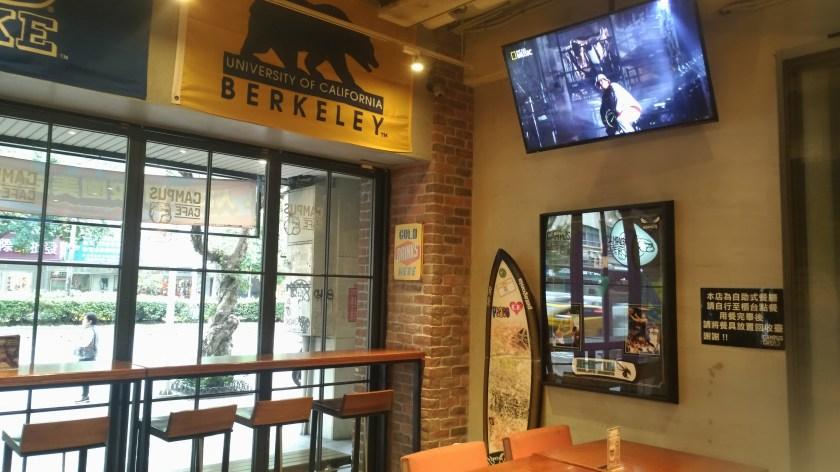 Campus Cafe店內