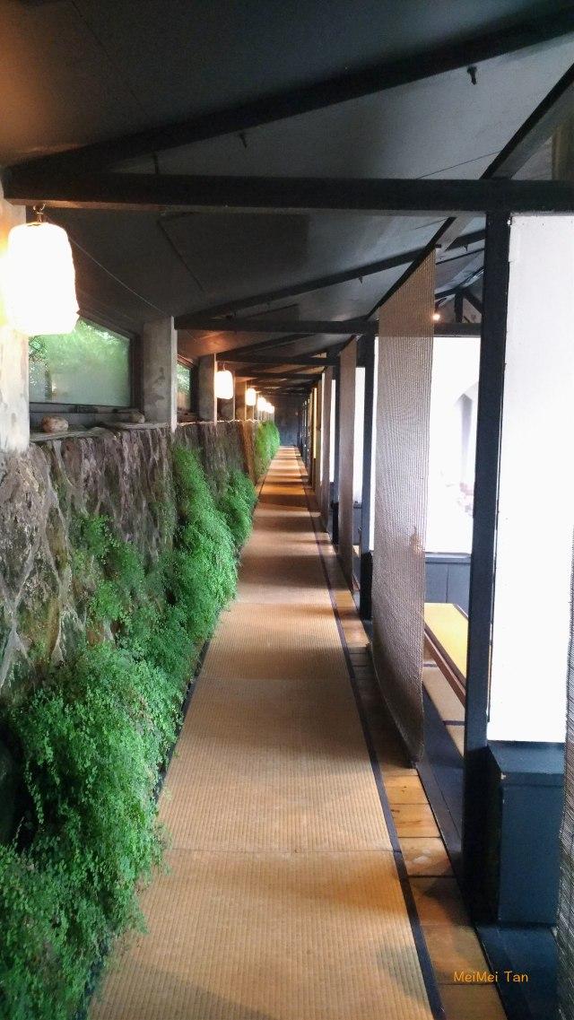 松園禪林 室內長長的走廊