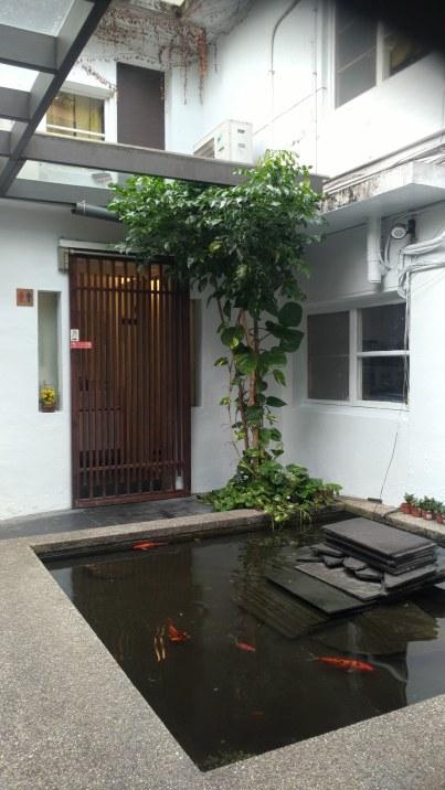 Taipei Quiantien Street-20171114-Quiantien 76-little pond