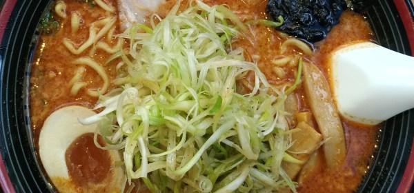 屯京拉麵 之麻辣豚骨京蔥拉麵
