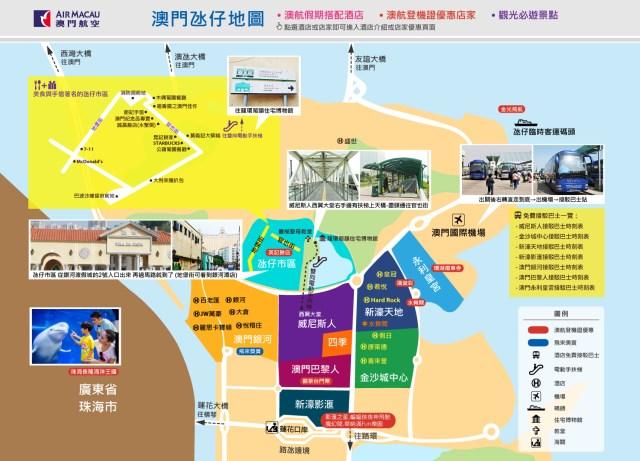 Map of Macau Taipa