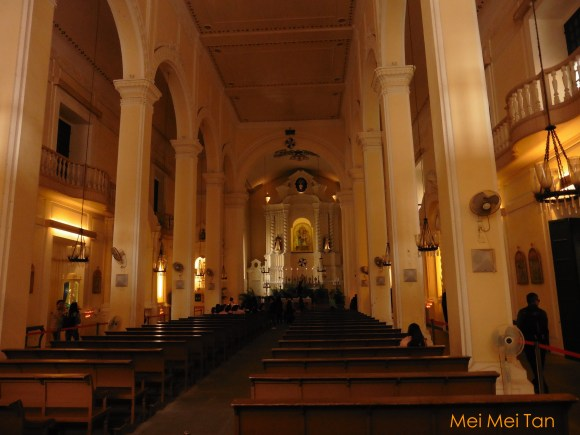 Travel-Macao-Historic Center of Macao-Rosary Church-inside-20180210