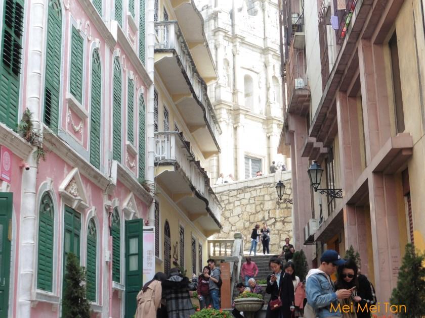 澳門舊城區 戀愛巷