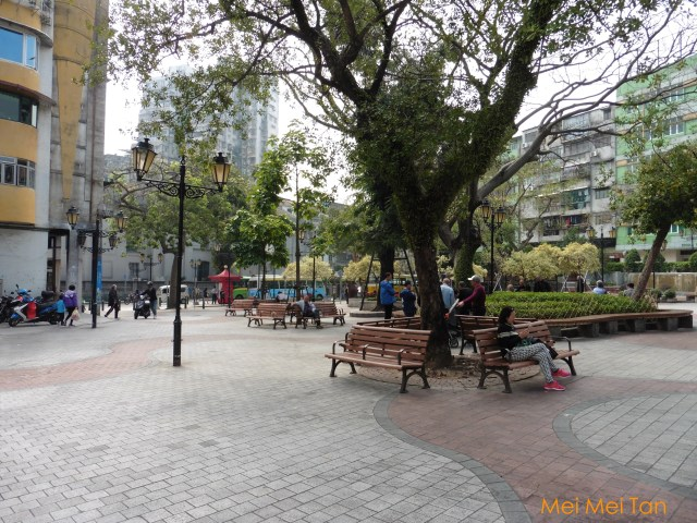 Travel-Macao-Historic Center of Macao-Camoes Square-20180210