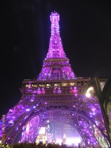 巴黎人鐵塔夜景