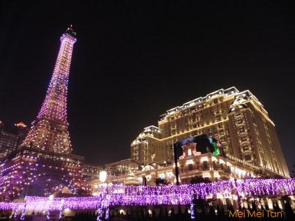 巴黎人夜景
