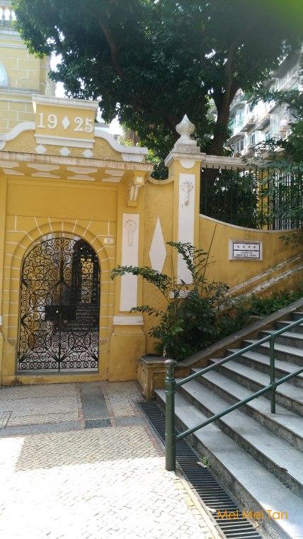 Travel-Macao-Calçada da Igreja de S. Lázaro-Entrance-20180210