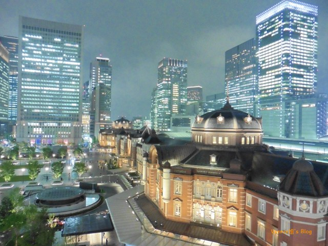20180417_Kitte Okujo Garden_Tokyo Station_high sensitivity mode