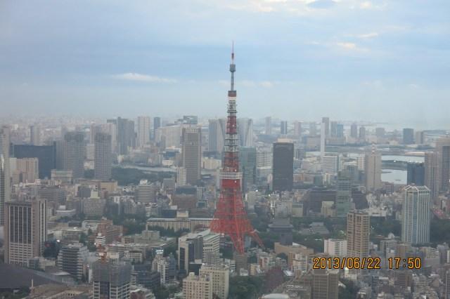 Tokyo Roppongi Hills Night View of Tokyo Tower_17:50