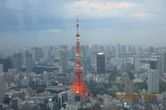 Tokyo Roppongi Hills Night View of Tokyo Tower_18:02