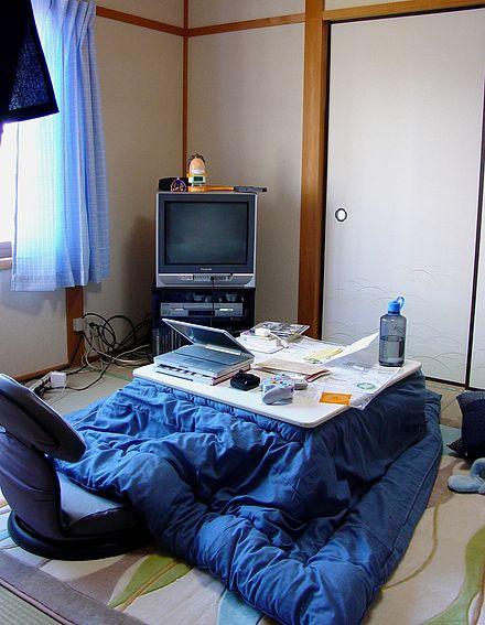 Japanese Kotatsu-Photo from Wikipedia
