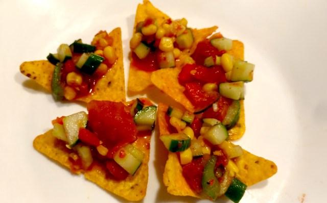 墨西哥黃瓜沙拉&墨西哥脆片