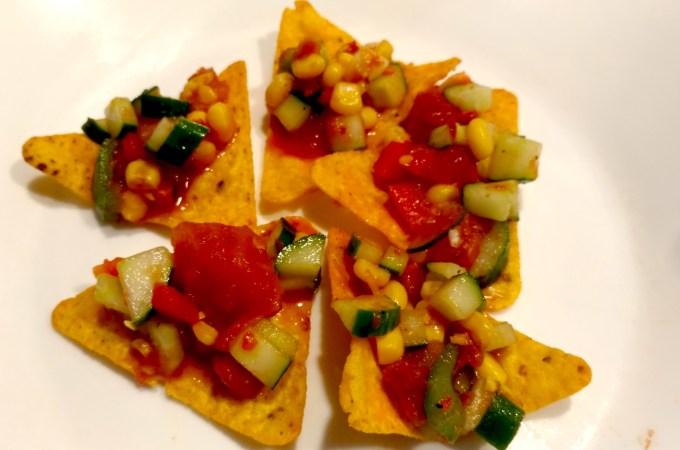週末食譜:墨西哥黃瓜沙拉 ~ 難搞青少年&不熟大人的夢幻夏日晚餐