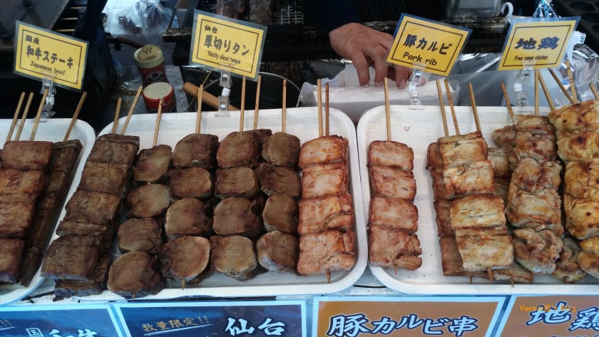 Tokyo-Ueno-Ueno Koen-Matsuri-Barbecue